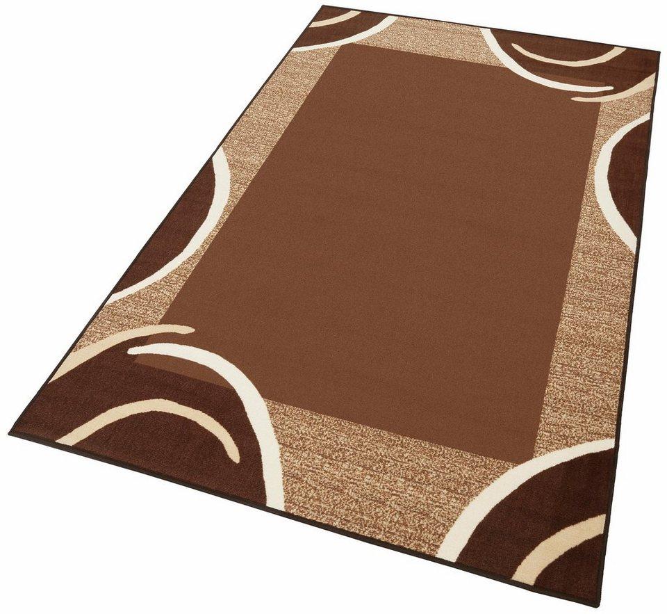 Teppich, Theko, »Loures«, getuftet in schoko