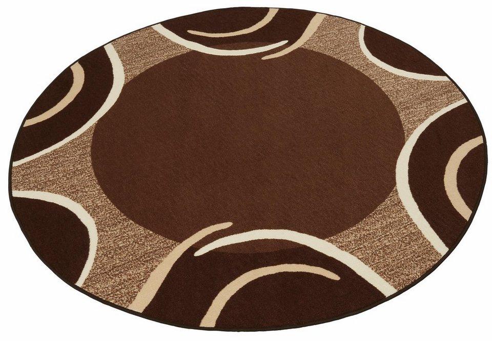teppich loures theko rund h he 6 mm kaufen otto. Black Bedroom Furniture Sets. Home Design Ideas