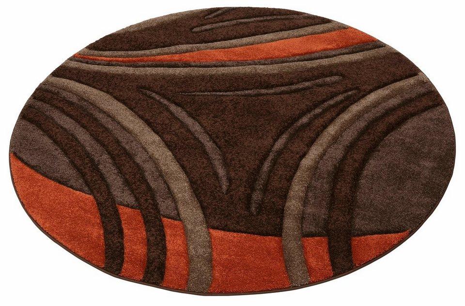 teppich david my home rund h he 20 mm kaufen otto. Black Bedroom Furniture Sets. Home Design Ideas