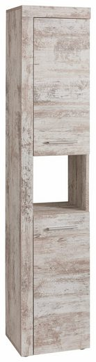 trendteam Hochschrank »CANCUN« mit Rahmenoptik in Holztönen