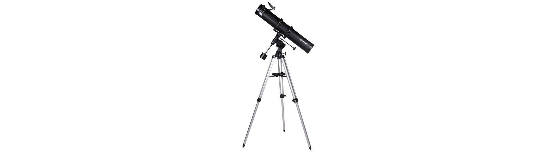 Bresser Teleskop »BRESSER Galaxia 114/900 EQ-Sky Spiegelteleskop«