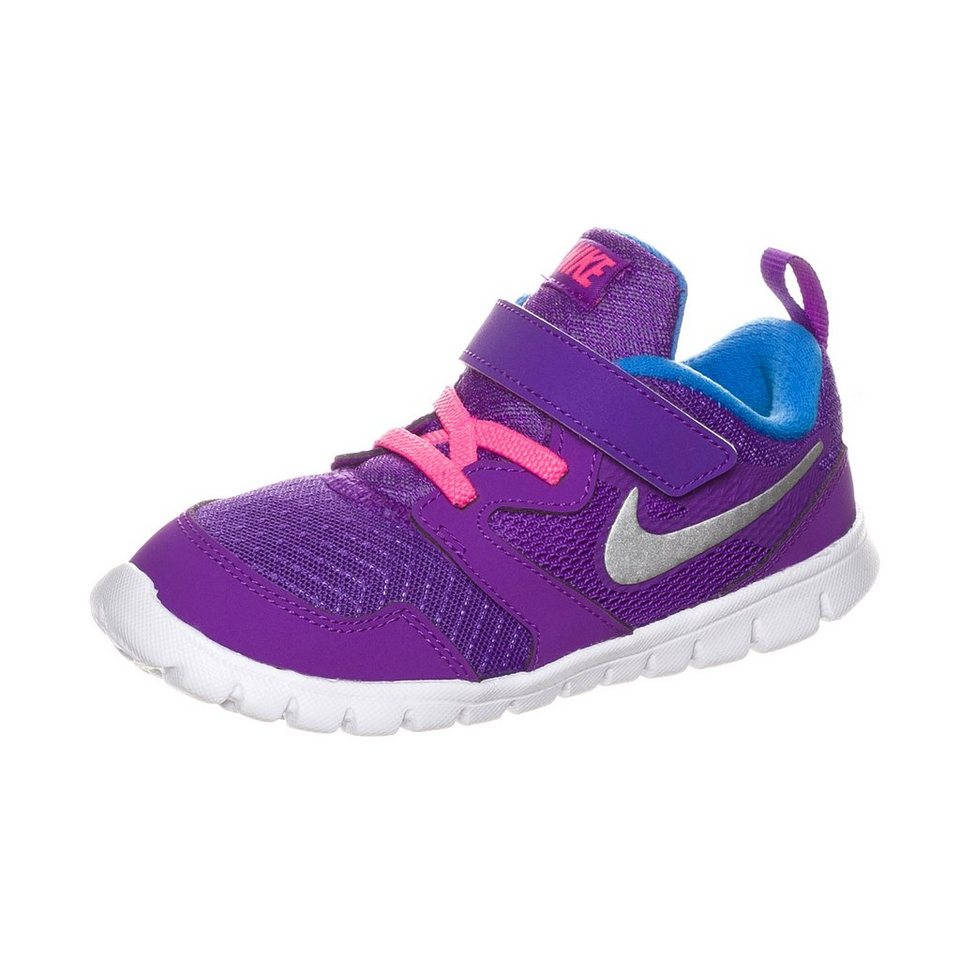 NIKE Flex Experience 3 Trainingsschuh Kleinkinder in lila / silber / pink