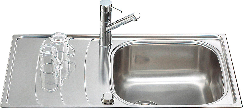 Schock Edelstahlspüle »Design«, ohne Restebecken, 86x50 cm