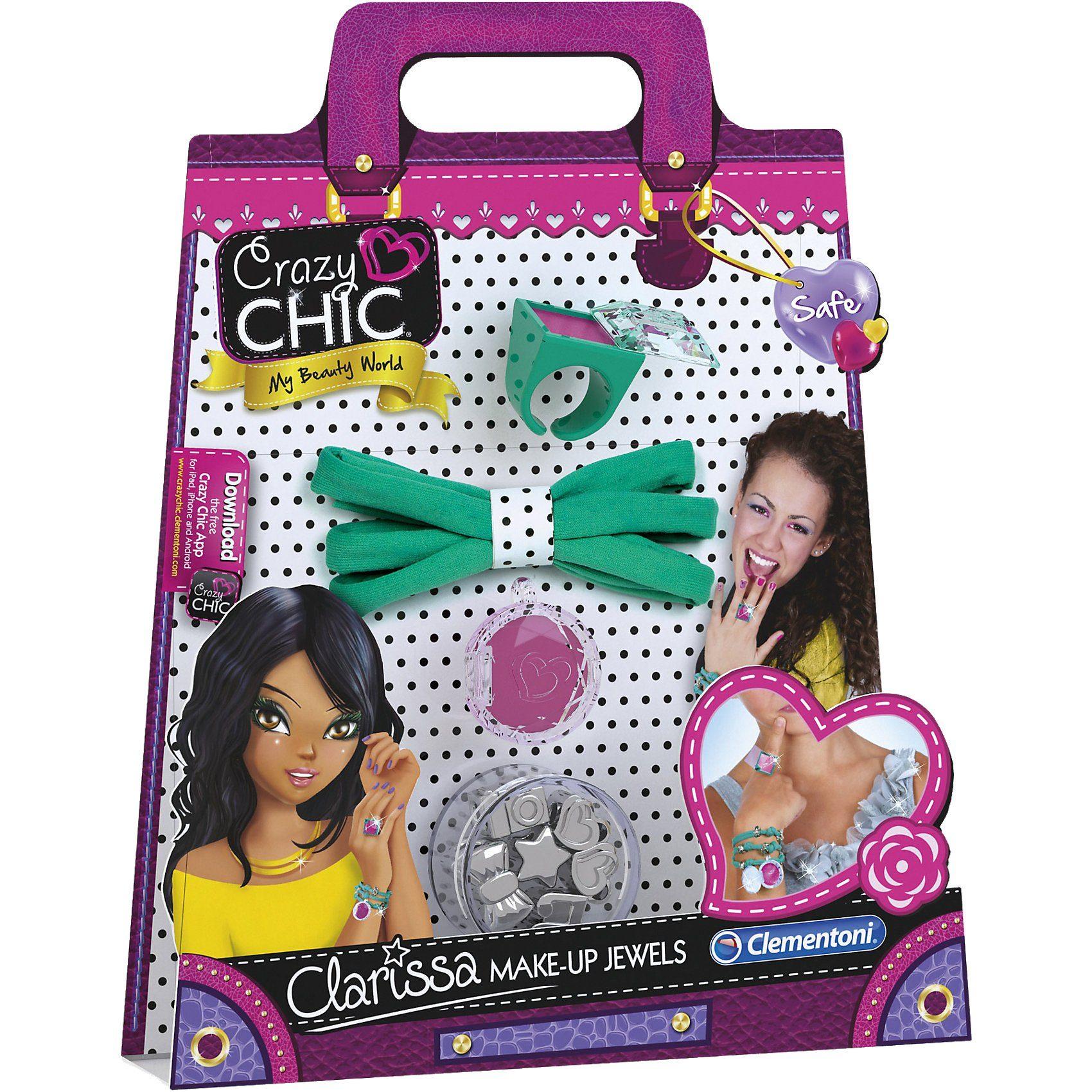 Clementoni Crazy Chic - Clarissas Make-Up Jewels