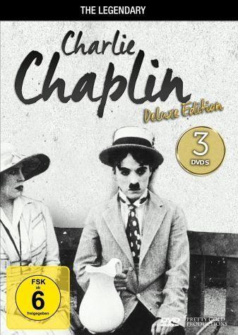 DVD »Charlie Chaplin - The Legendary Charlie...«