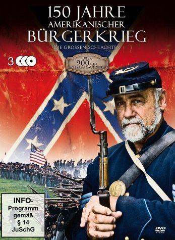 DVD »150 Jahre Amerikanischer Bürgerkrieg (3 Discs)«