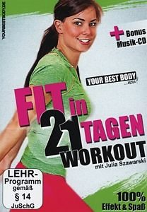 DVD »Your Best Body - Fit in 21 Tagen (2 Discs, +...«