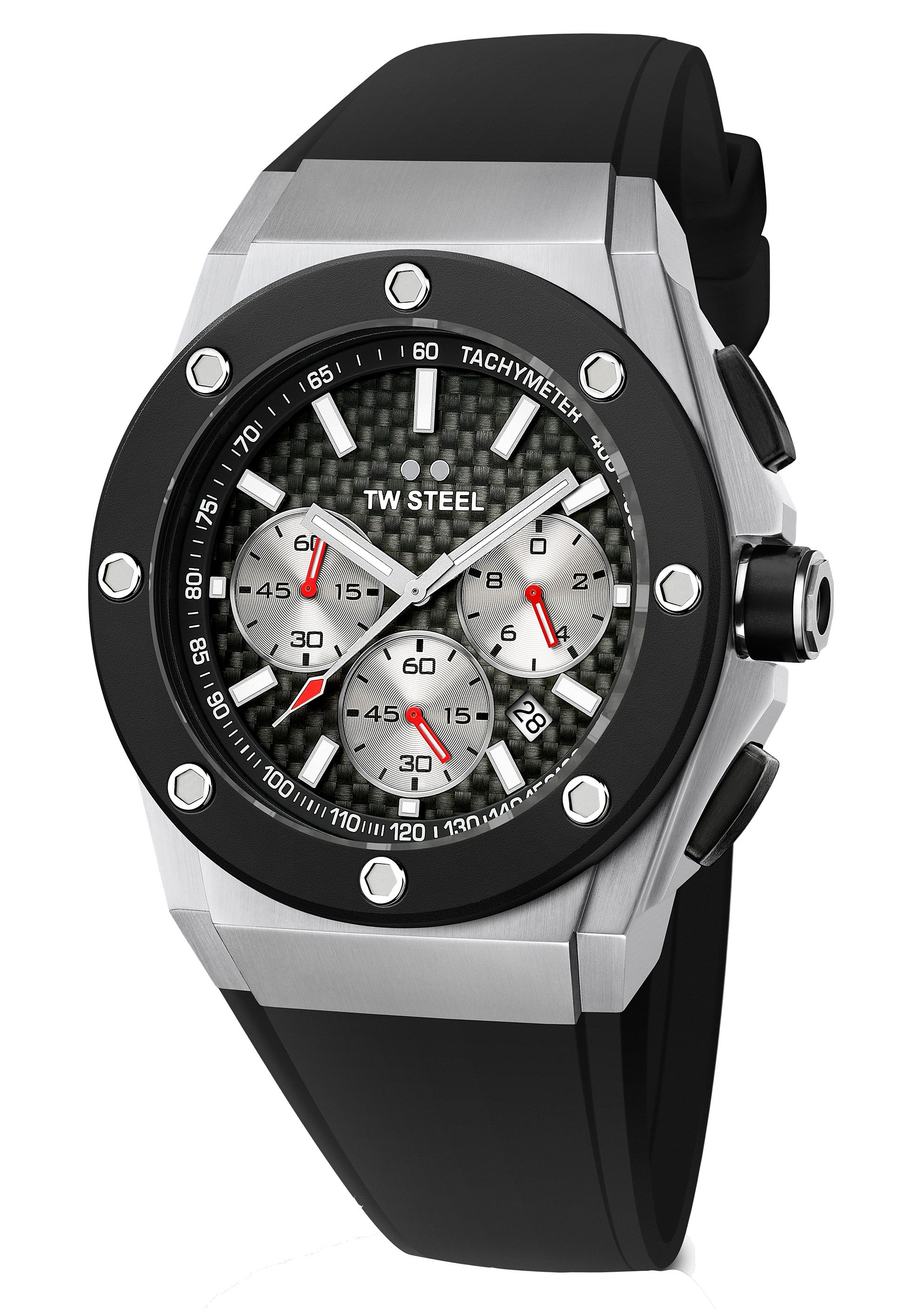 TW Steel Chronograph »CEO-TECH David Coulthard, TWCE-4020«