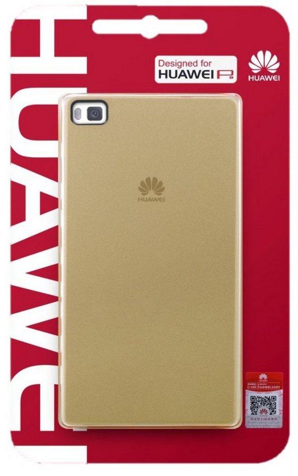 Huawei Handytasche »PC Cover für P8« in Braun
