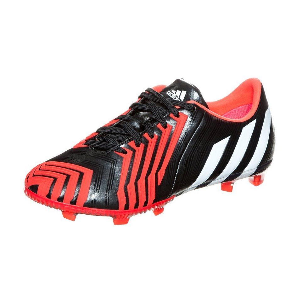 adidas Performance Predator Instinct FG Fußballschuh Kinder in schwarz / rot / weiß