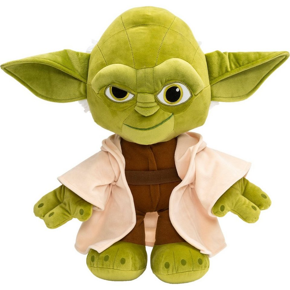 JOY TOY Velboa-Samtplüsch Yoda Star Wars, 45 cm