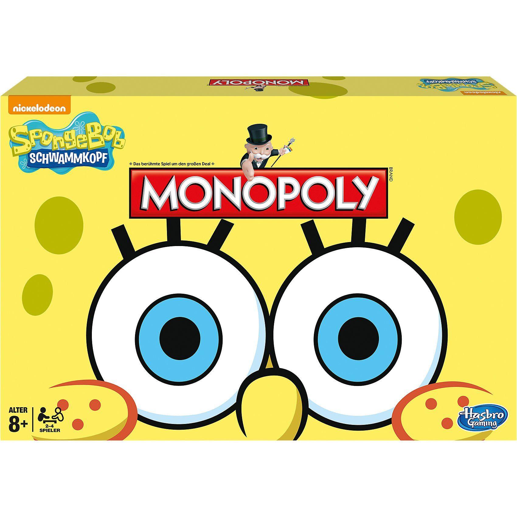 Hasbro Monopoly SpongeBob