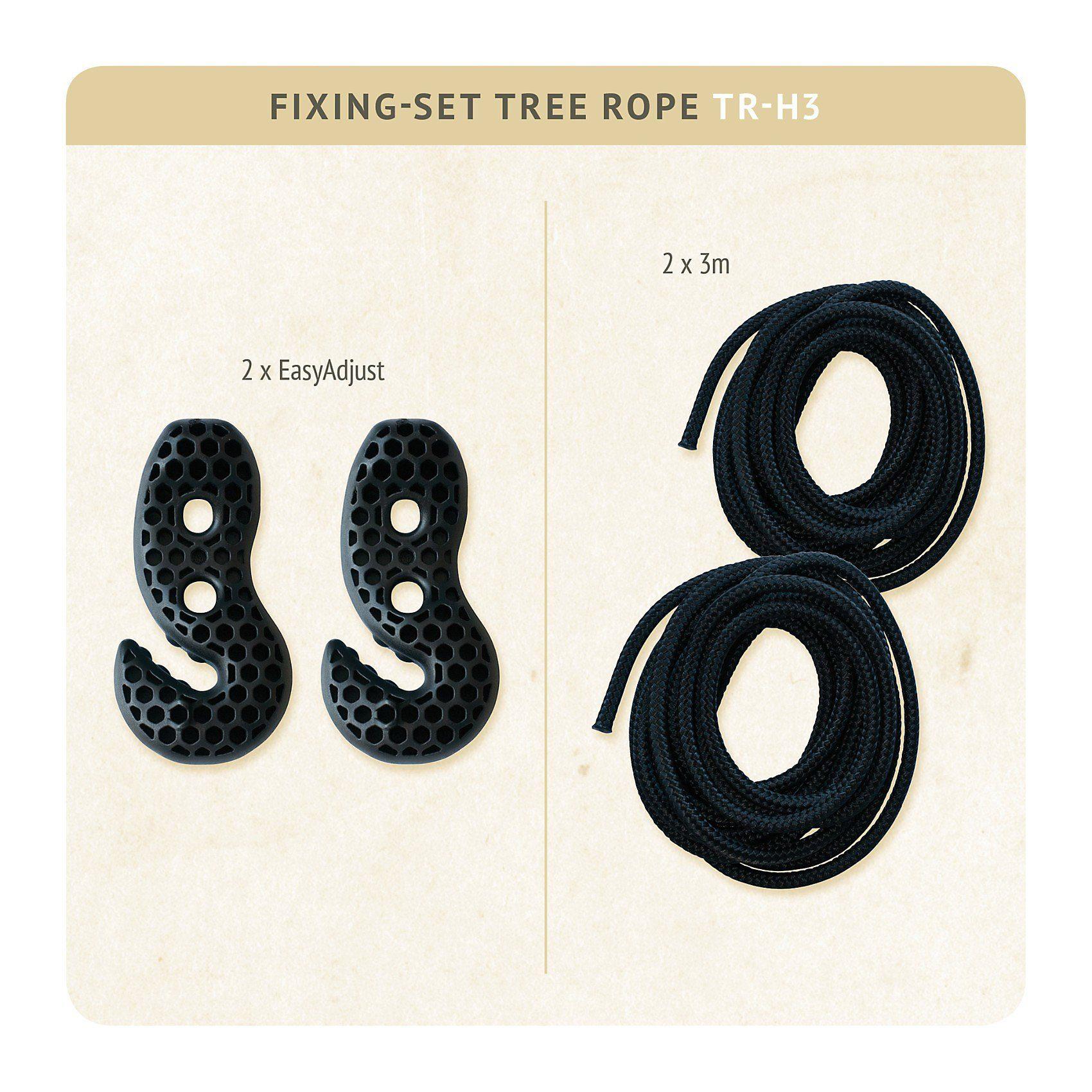 La Siesta Befestigungsset Tree Rope, bis 200 kg