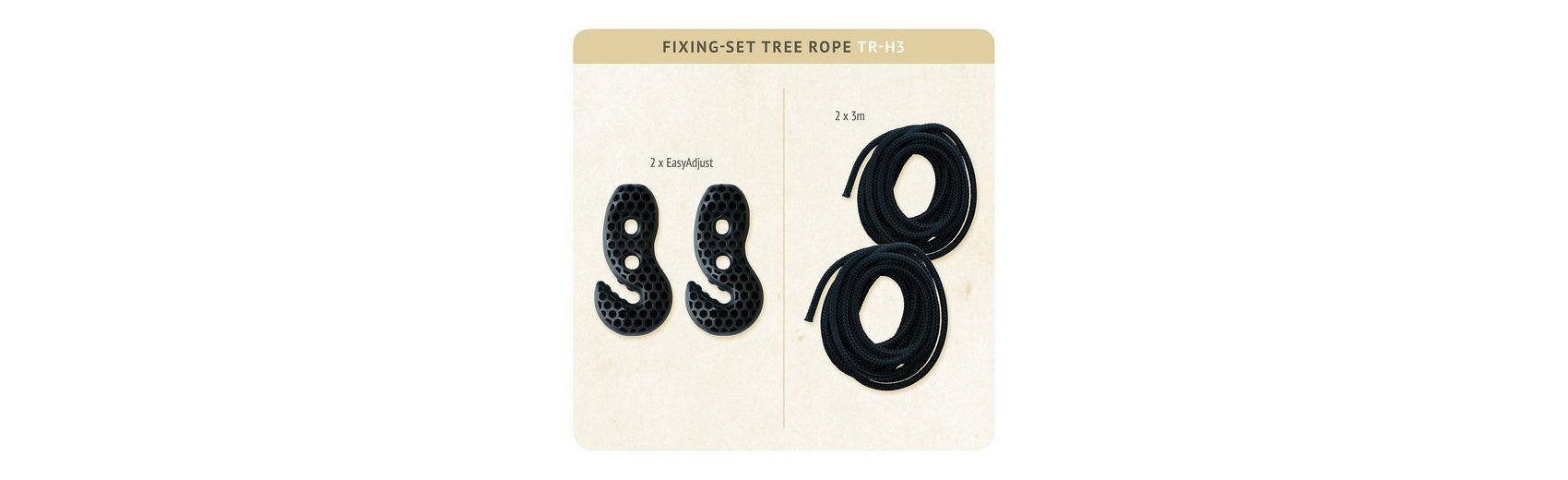 La Siesta Befestigungsset Tree Rope