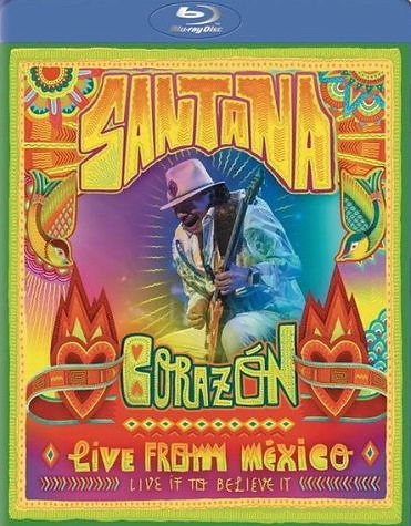 Blu-ray »Santana - Corazón: Live From Mexico (+ Audio-CD)«