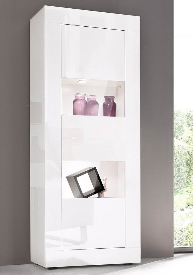 lc vitrine h he 162 cm online kaufen otto. Black Bedroom Furniture Sets. Home Design Ideas