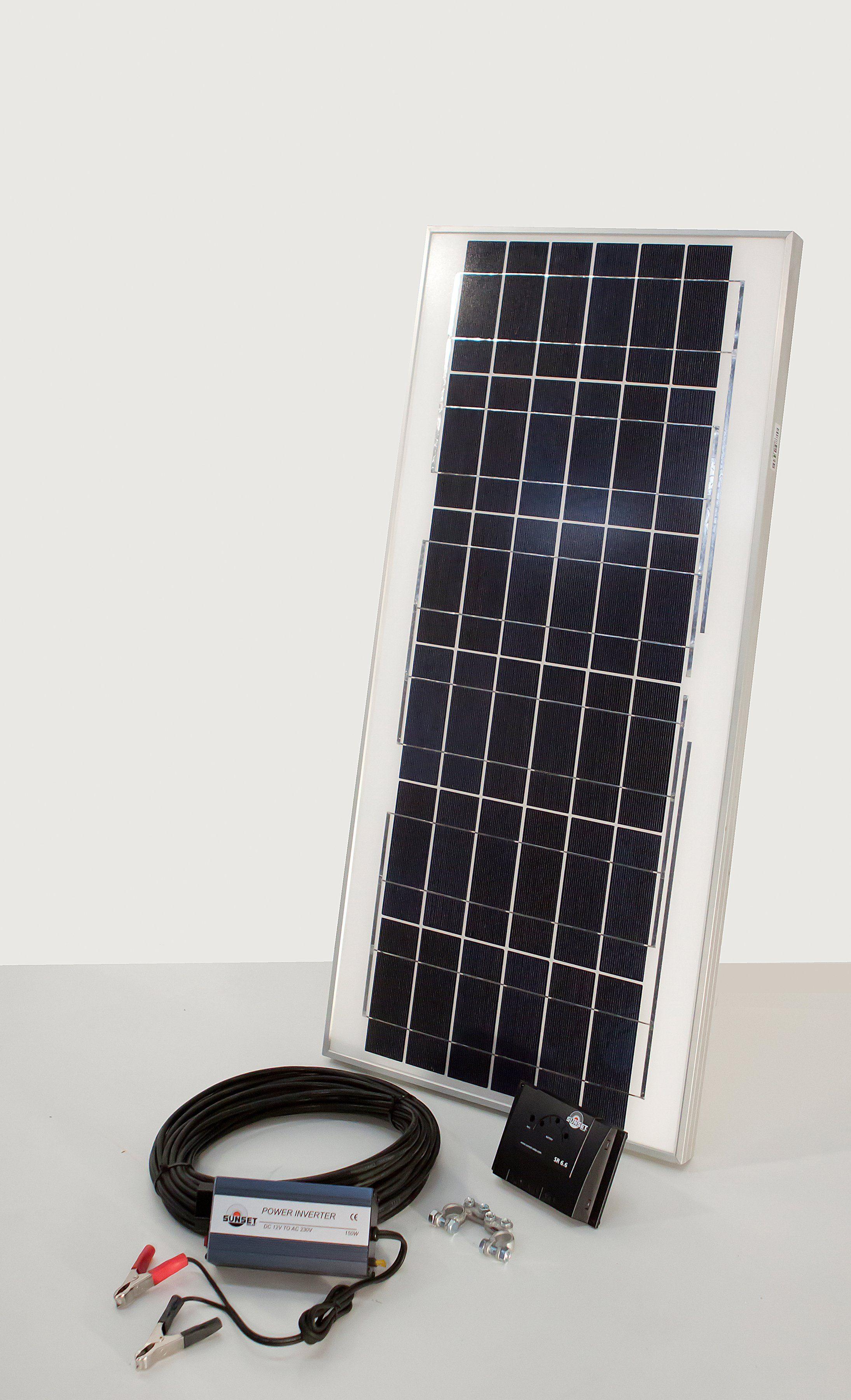 Set: Solareinsteiger-Set »Solarstrom-Einsteiger-Set «, 45 Watt 230 V