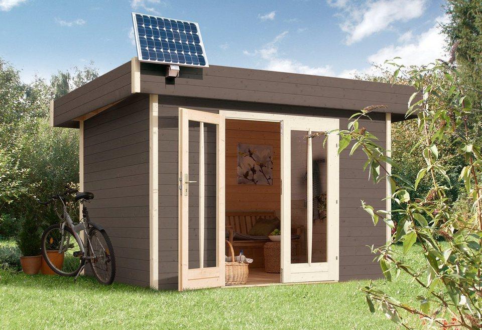 Solarstrom-Set für Gartenhäuser »PV 45 45 Watt« in silberfarben