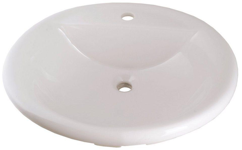 Keramik Waschtisch / Waschbecken »Luso« 57 cm