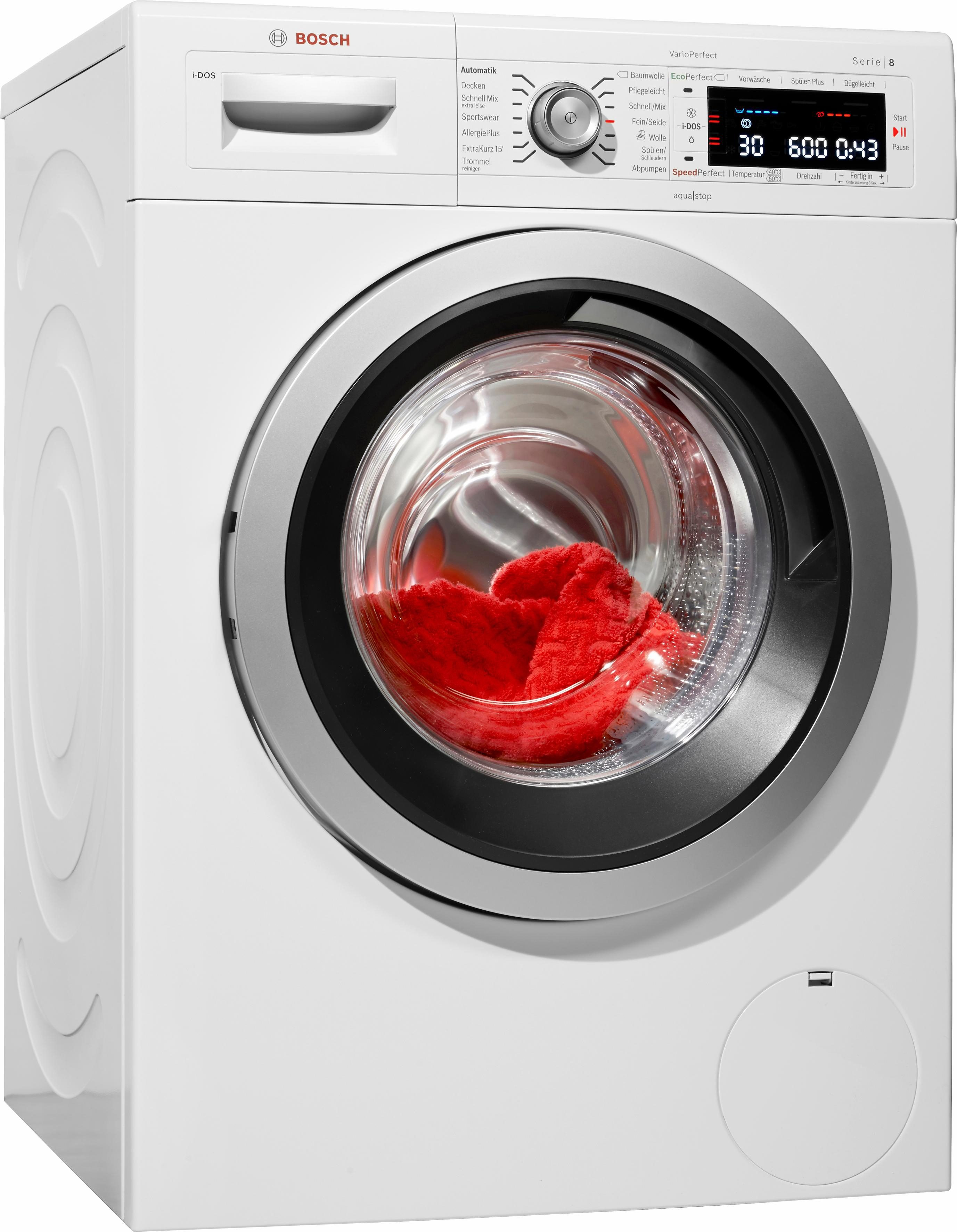 BOSCH Waschmaschine WAW28640, A+++, 8 kg, 1400 U/Min