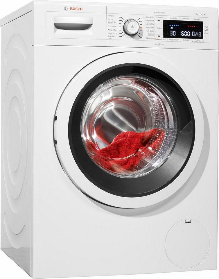BOSCH Waschmaschine Serie 8 WAW28500, A+++, 9 kg, 1400 U/Min