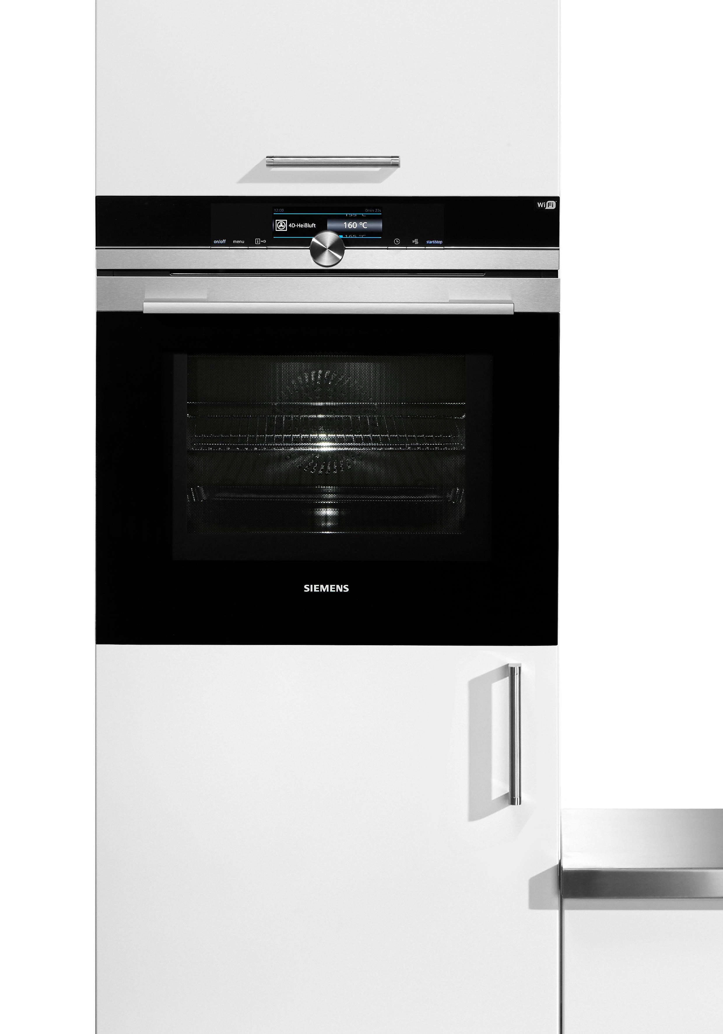 Siemens Backofen mit Mikrowelle iQ700 HM638GRS6 - Home Connect fähig