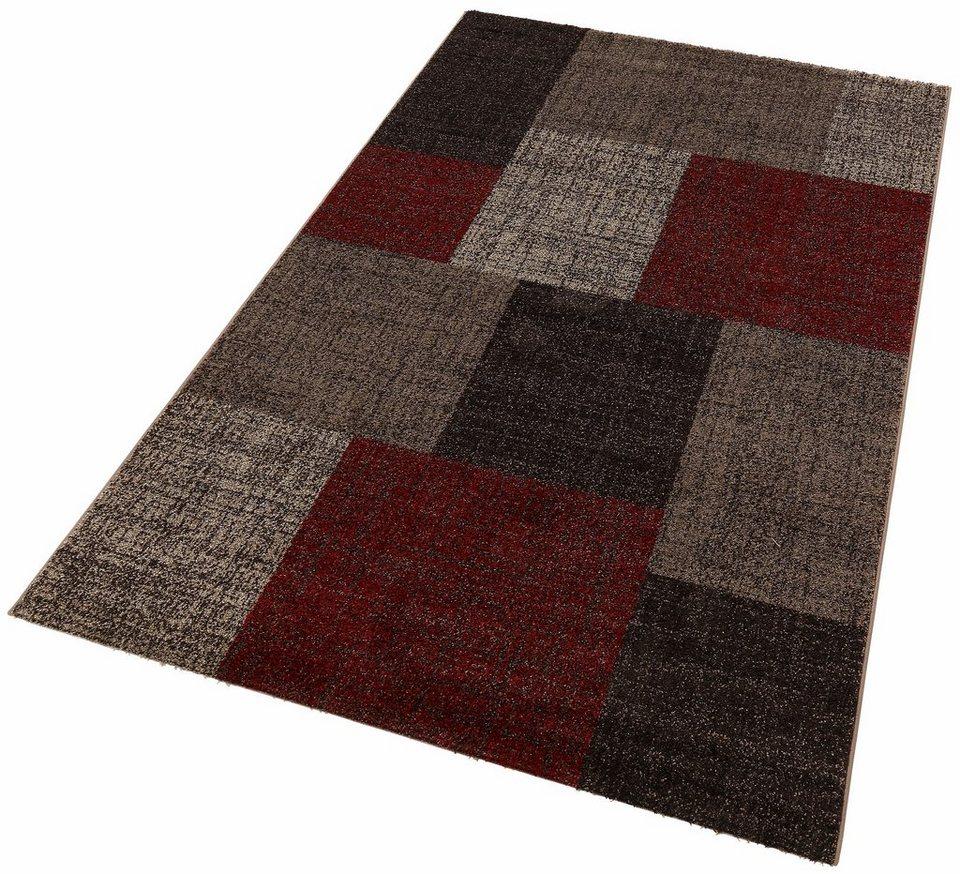 teppich modern 105 lalee rechteckig h he 11 mm online kaufen otto. Black Bedroom Furniture Sets. Home Design Ideas