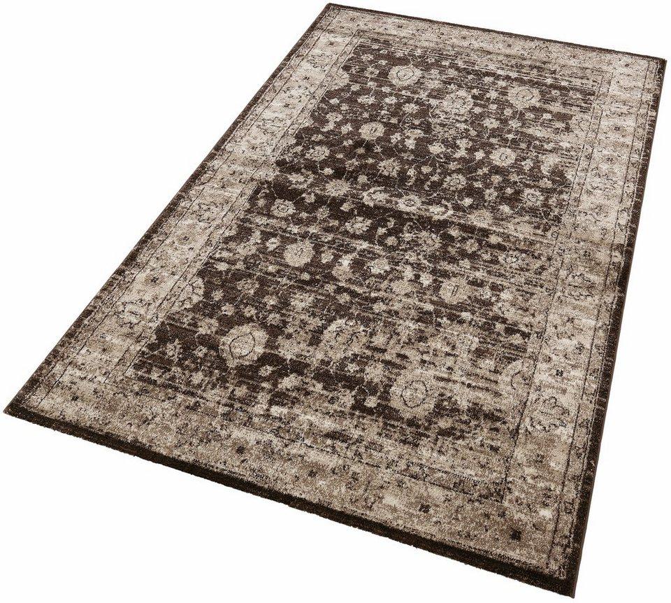 Orient-Teppich, Lalee, »Neo 333«, gewebt in beige