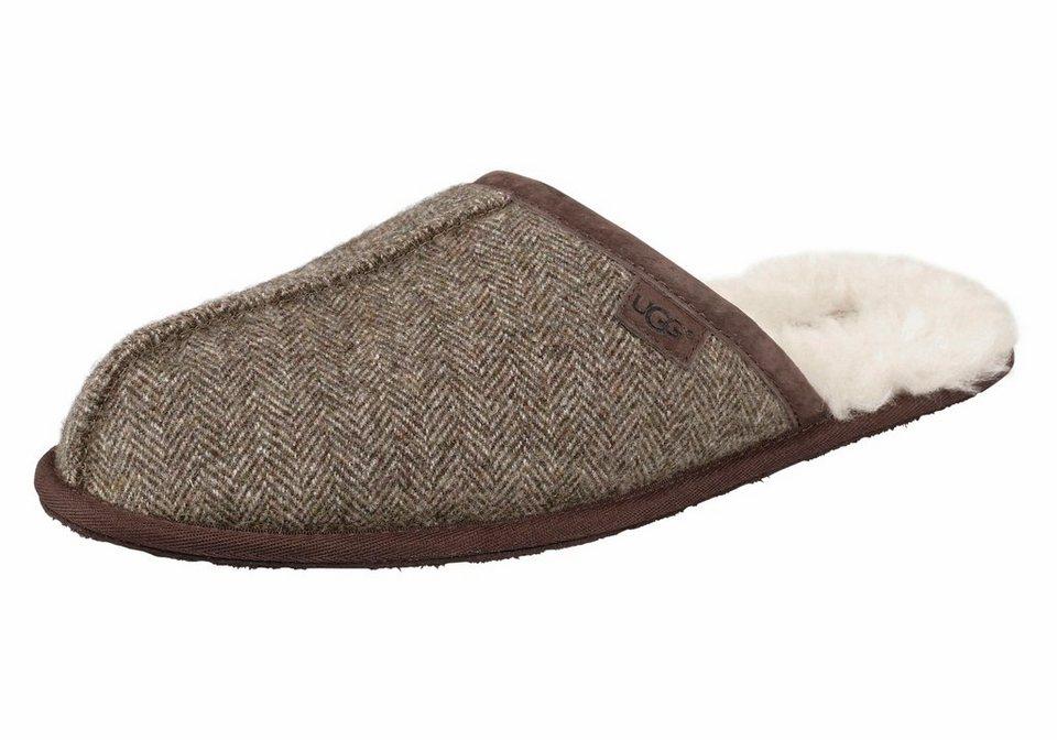 UGG Hausschuh »Scuff Tweed« in braun