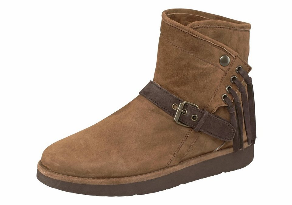 UGG Stiefel »Karisa, Classic Luxe Collection« in braun