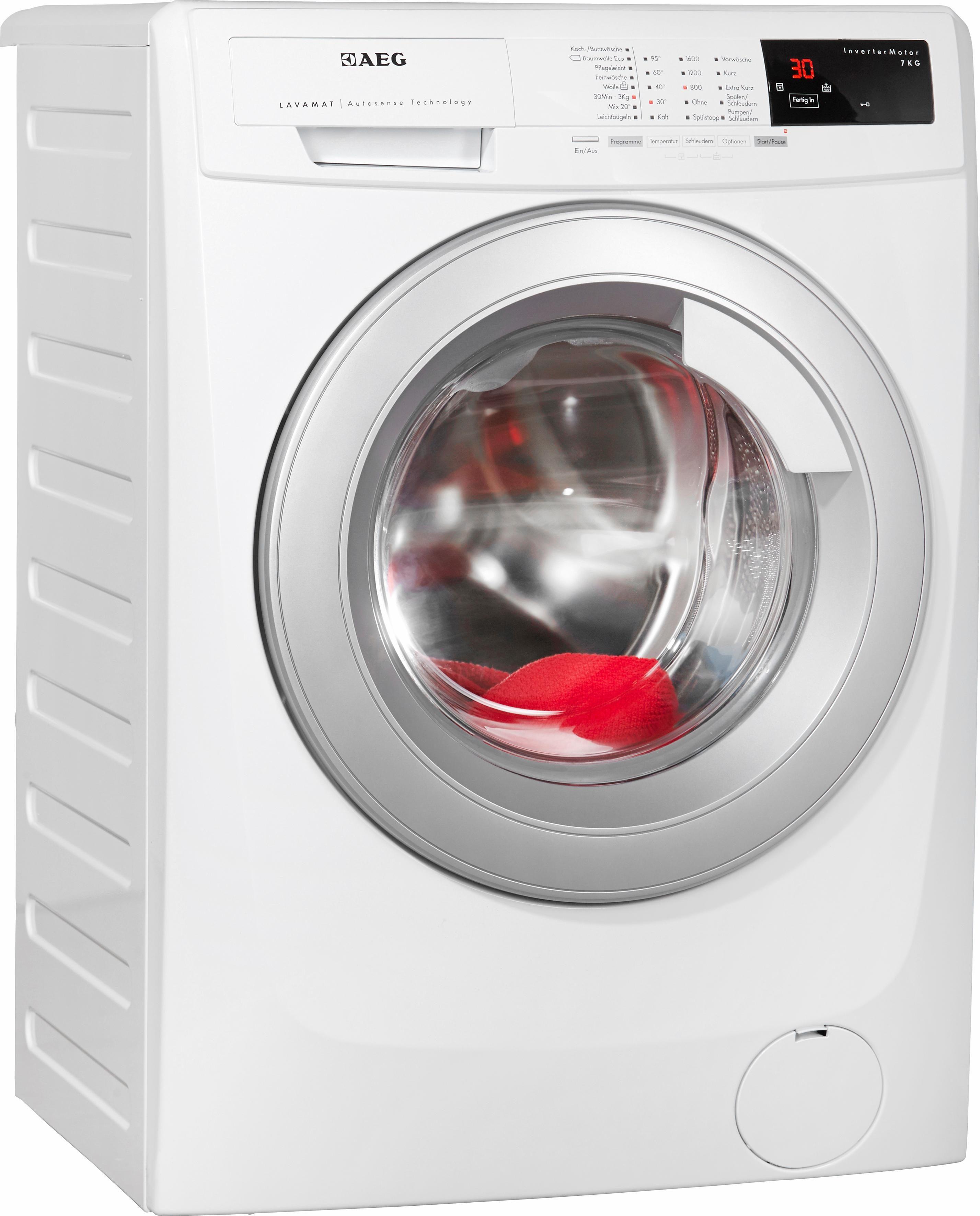 AEG Waschmaschine LAVAMAT 69670VFL, A+++, 7 kg, 1600 U/Min