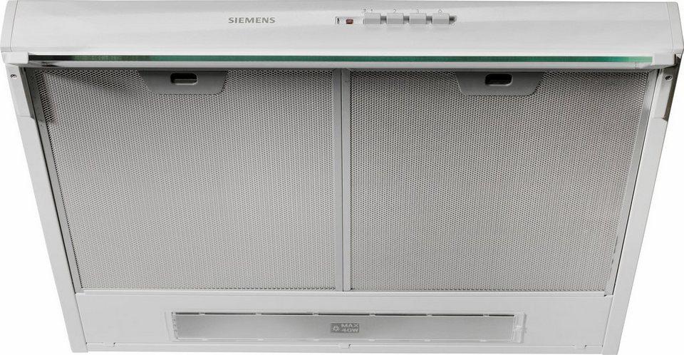 Siemens Unterbauhaube LU17123 in weiß