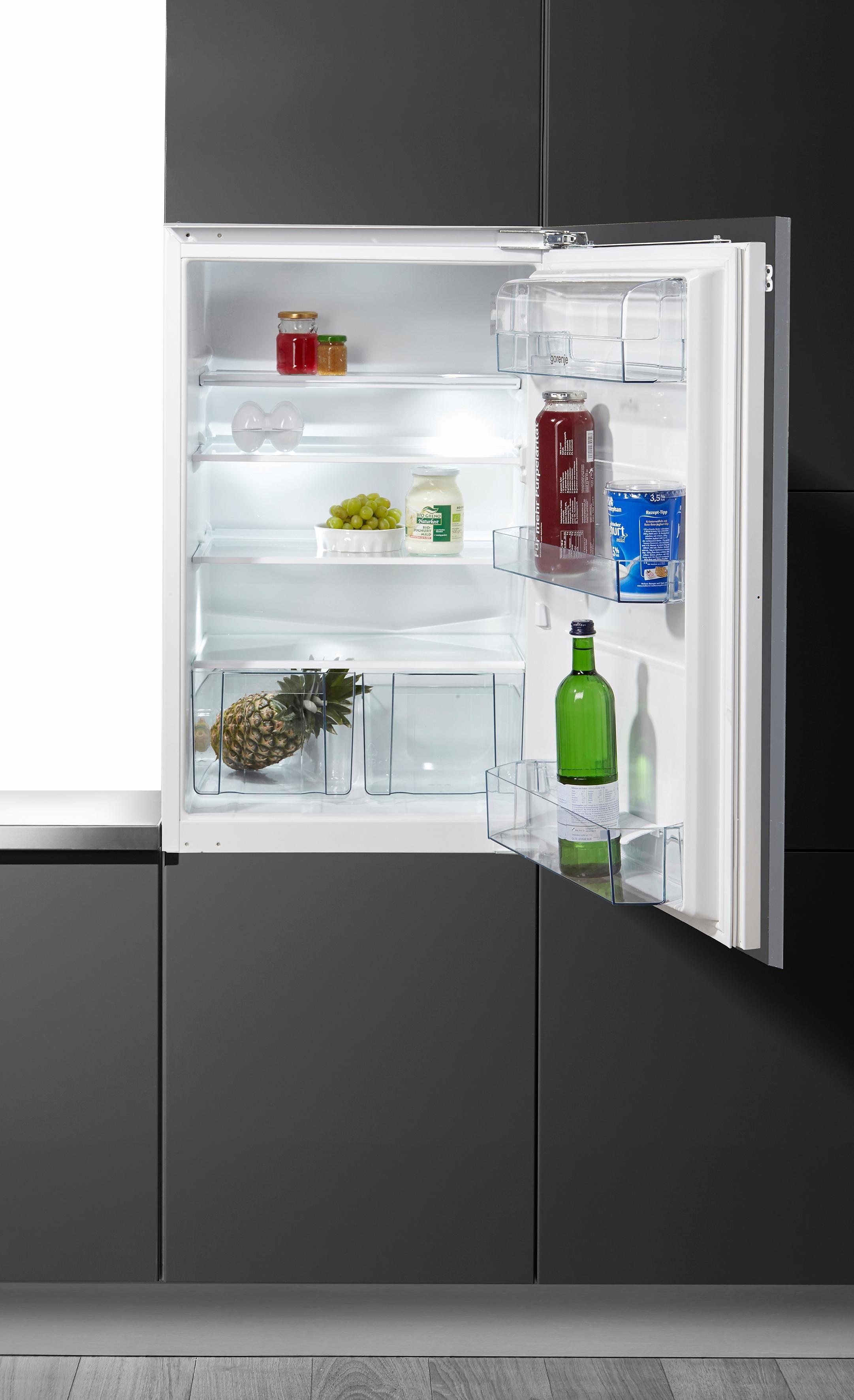 GORENJE Einbaukühlschrank RI 5092 AW, 87,5 cm hoch, 54 cm breit, A++, 87,5 cm, integrierbar