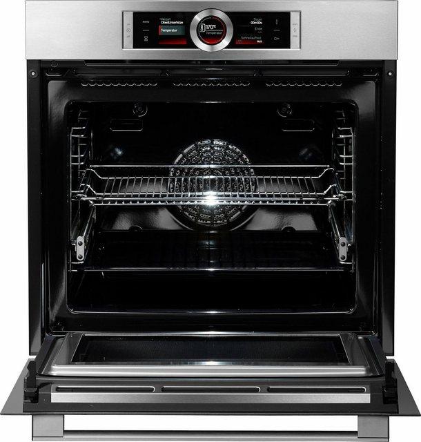 Küchengroßgeräte - BOSCH Pyrolyse Backofen Serie 8 HMG6764S1, mit Vollauszug, Pyrolyse Selbstreinigung, mit 4D Heißluft  - Onlineshop OTTO