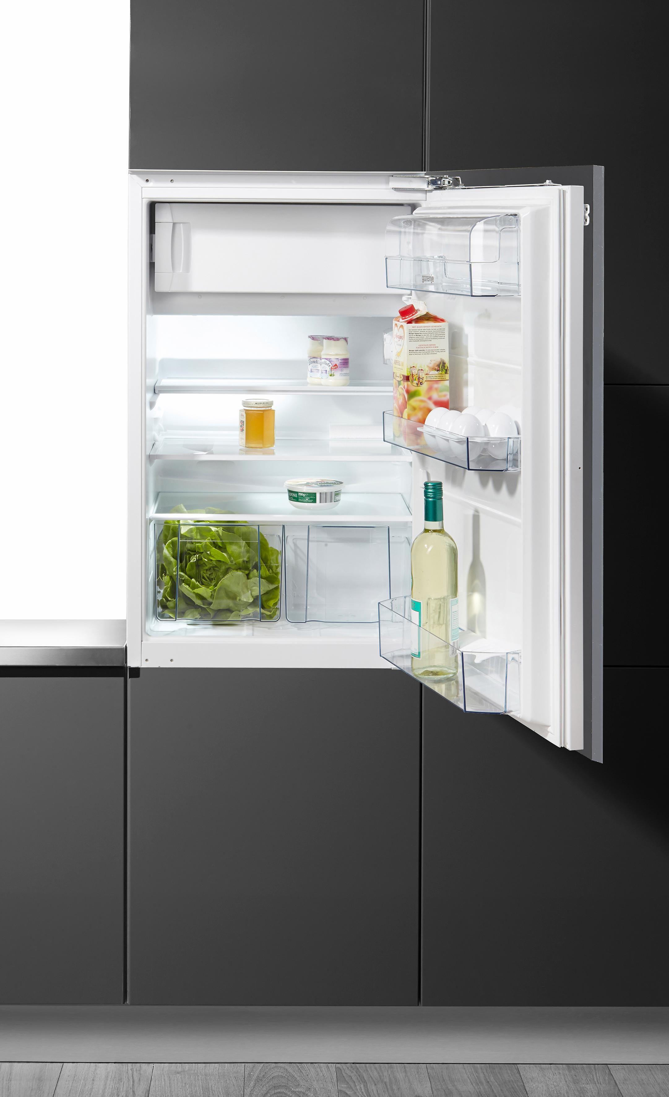 Gorenje integrierfähiger Einbaukühlschrank RBI 5092 AW, A++, 87,5 cm