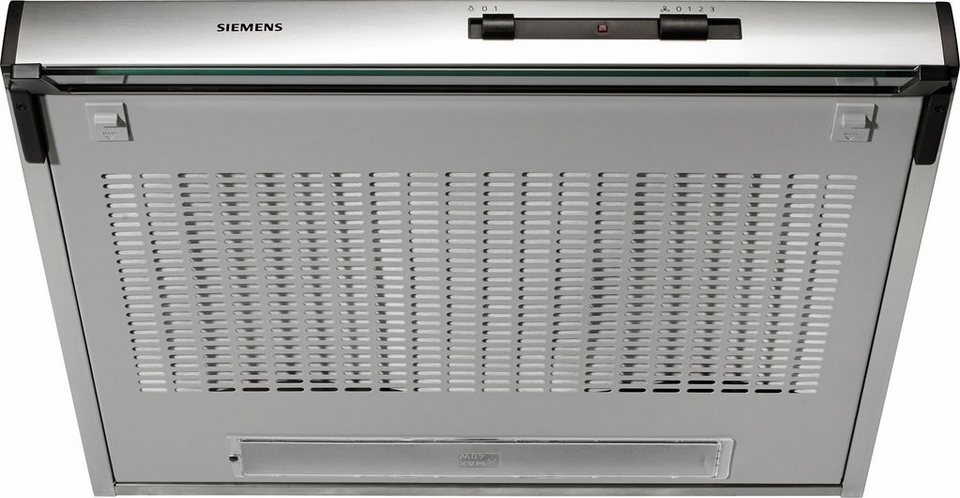 Siemens Unterbauhaube LU11153 in Edelstahl