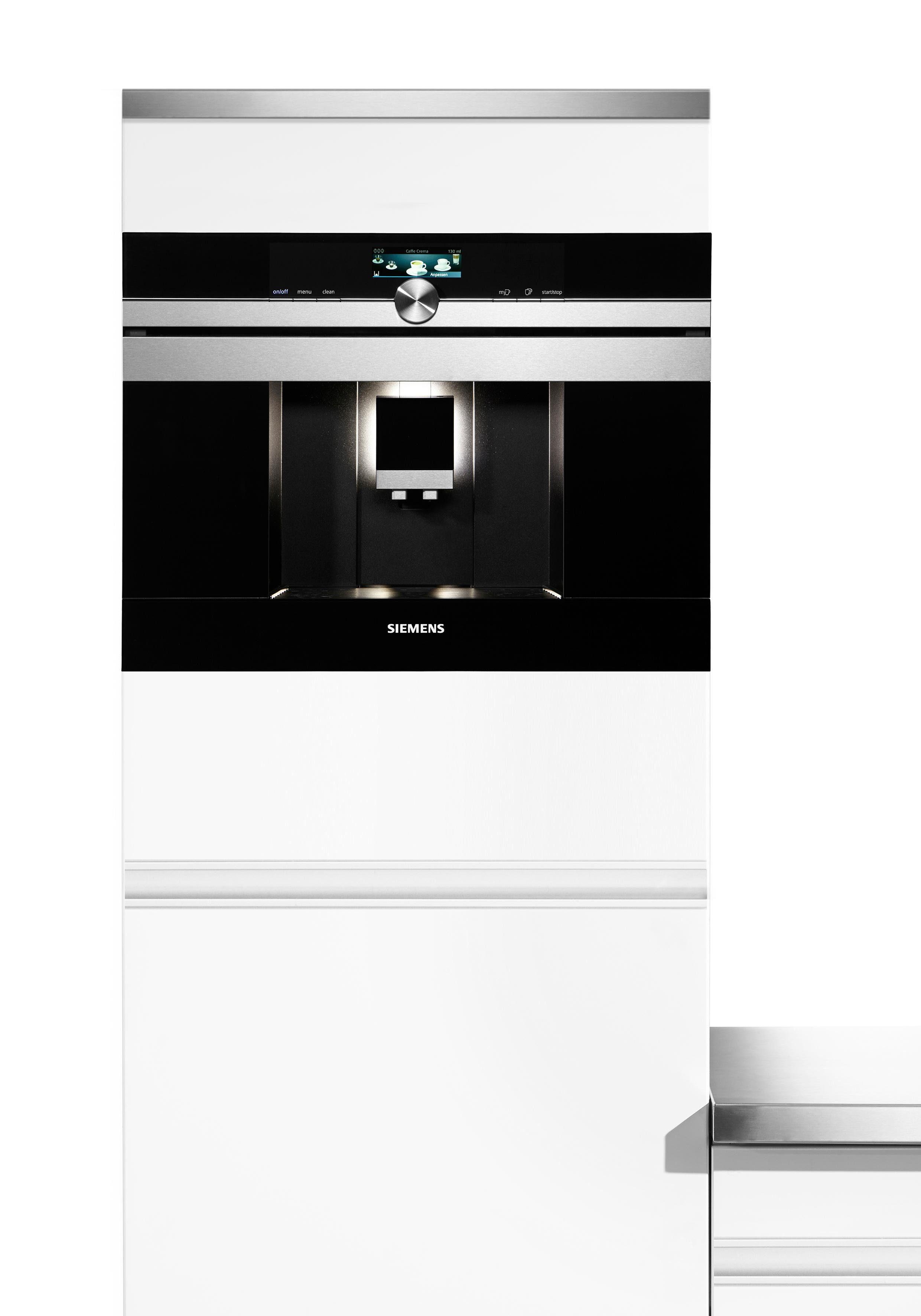 Siemens Kaffeevollautomat CT636LES1 mit Milchbehälter, edelstahl