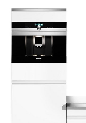 SIEMENS Einbau-Kaffeevollautomat CT636LES6