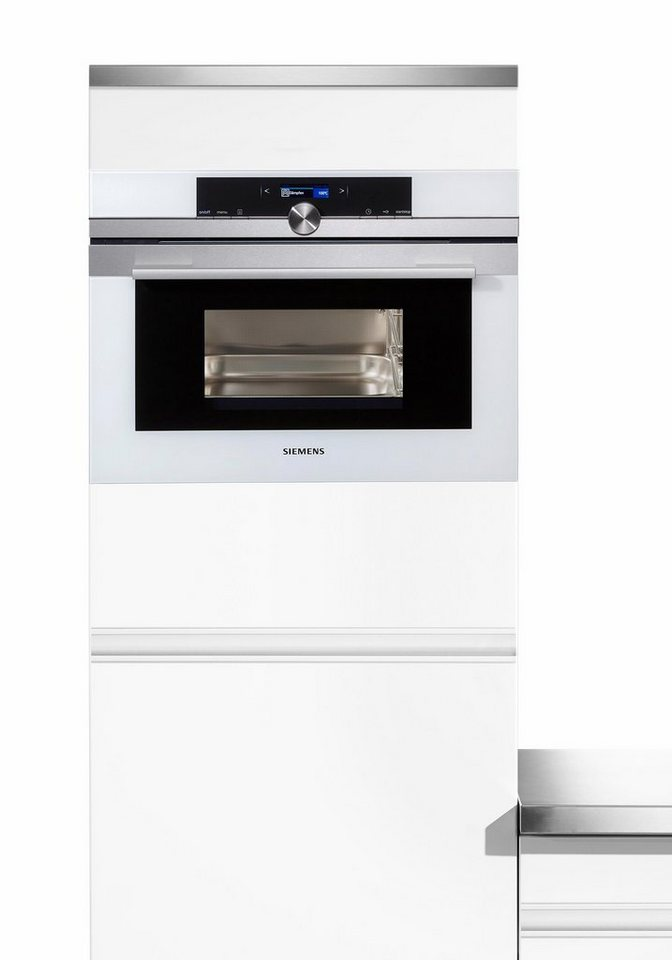 Siemens iQ700-Kompakt-Dampfgarer CD634GBS1 in weiß