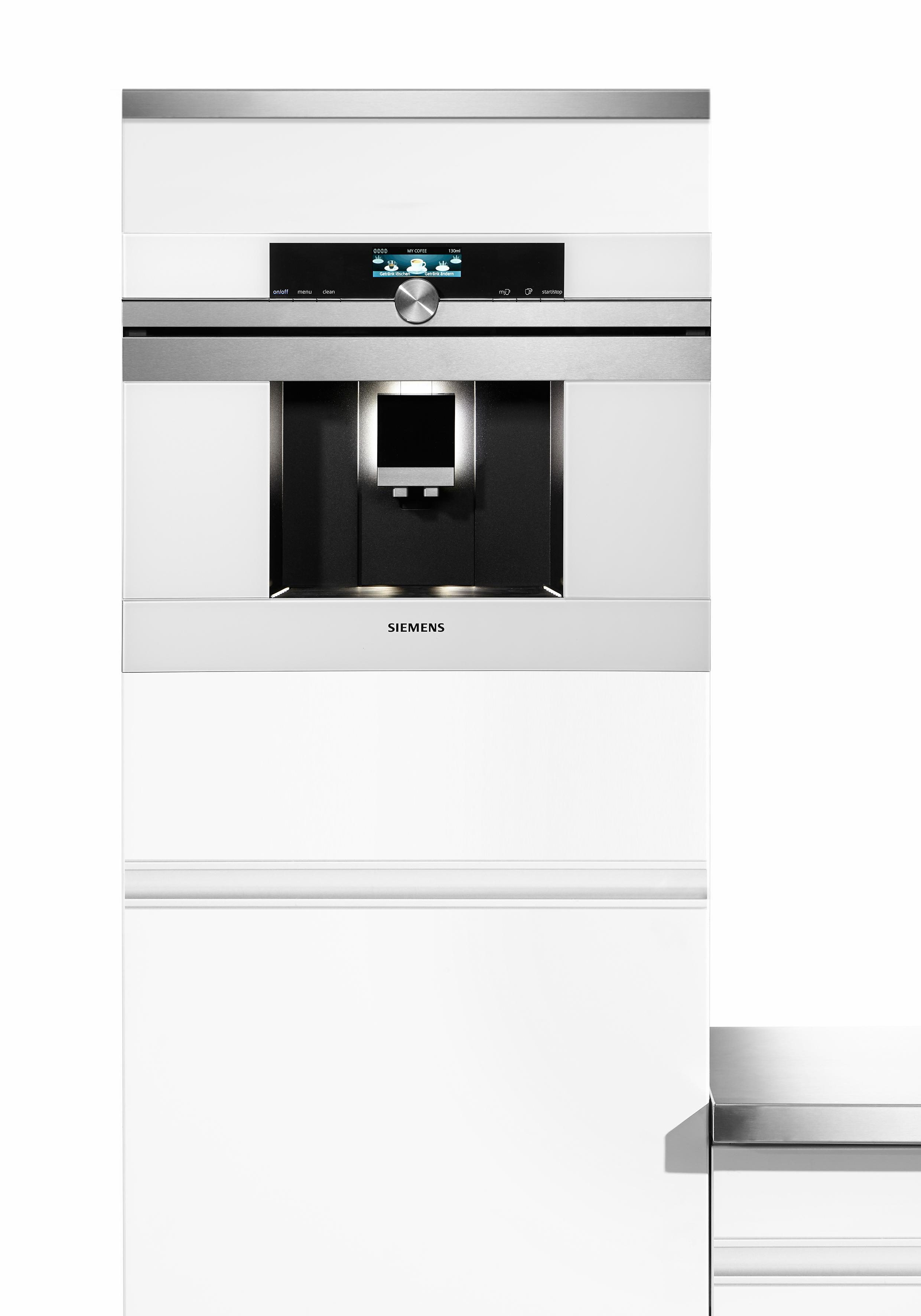 """Siemens Einbau-Kaffeevollautomat iQ700 """"CT636LEW1"""""""