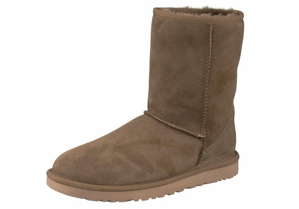UGG »Classic Short« Stiefel in olivgrün