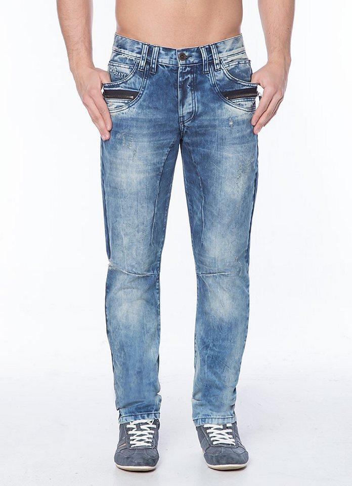 Cipo & Baxx Stylische Jeans - CD124 in STANDARD