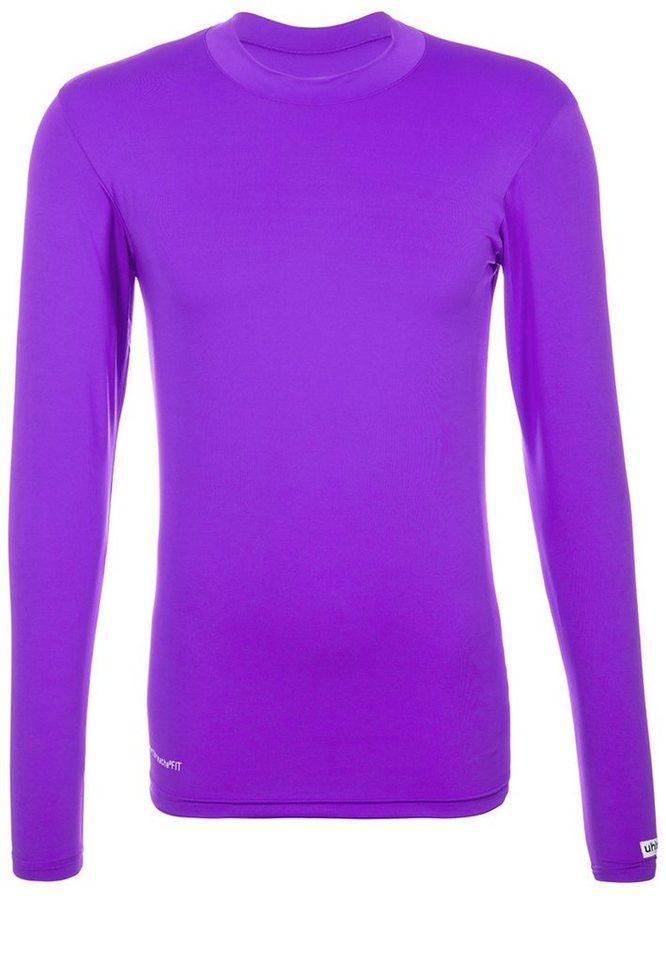 UHLSPORT Funktionsshirt Langarm Herren in purple