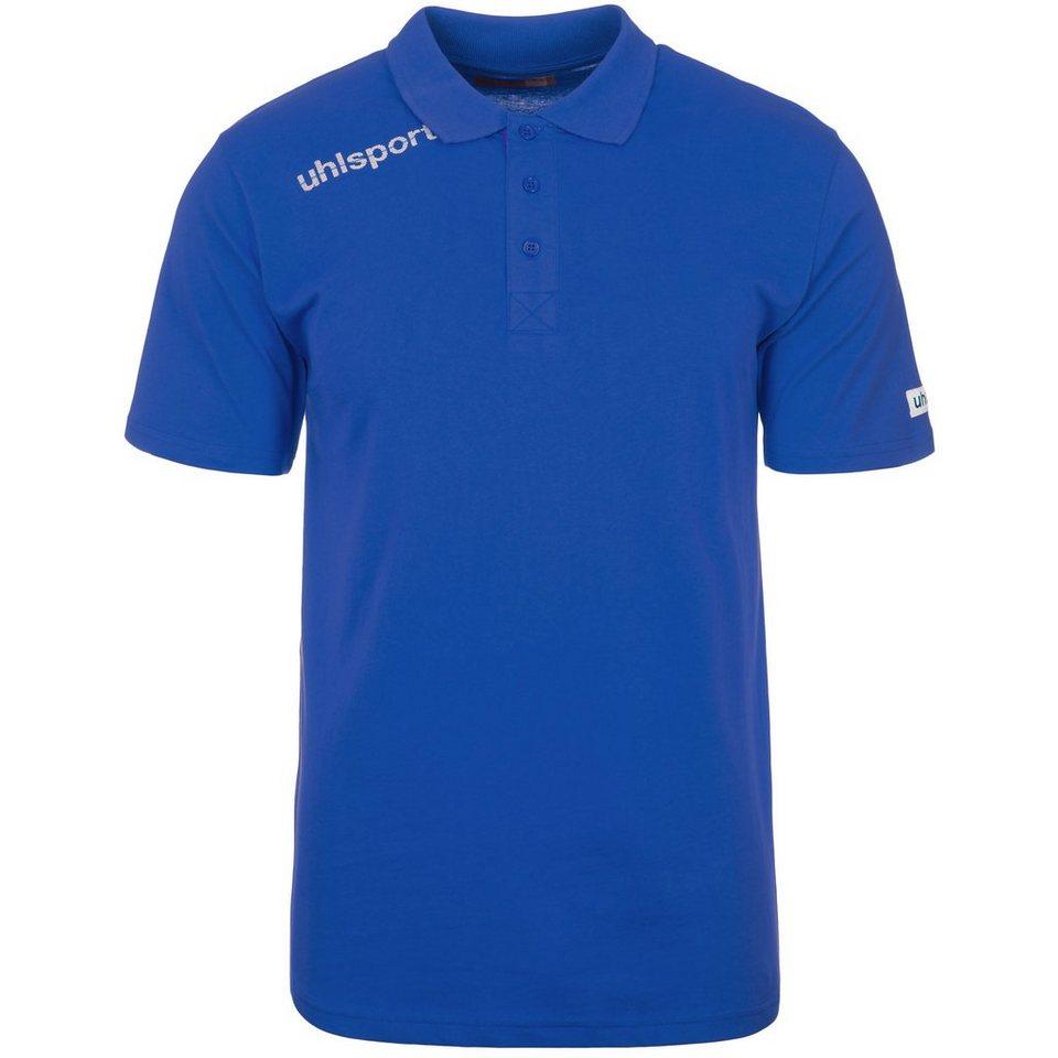 UHLSPORT Essential Polo Shirt Kinder in azurblau