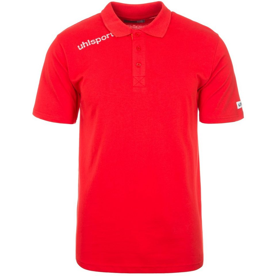 UHLSPORT Essential Polo Shirt Kinder in rot