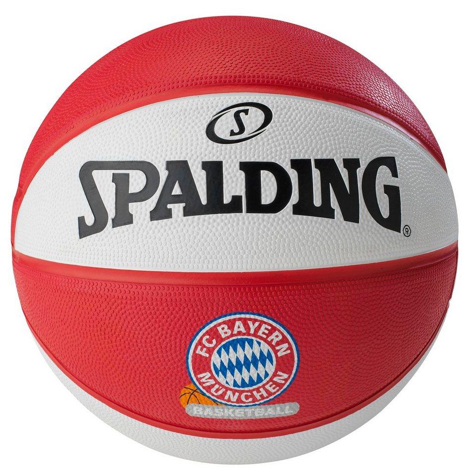 SPALDING EL Team FC Bayern München Basketball in rot / weiß