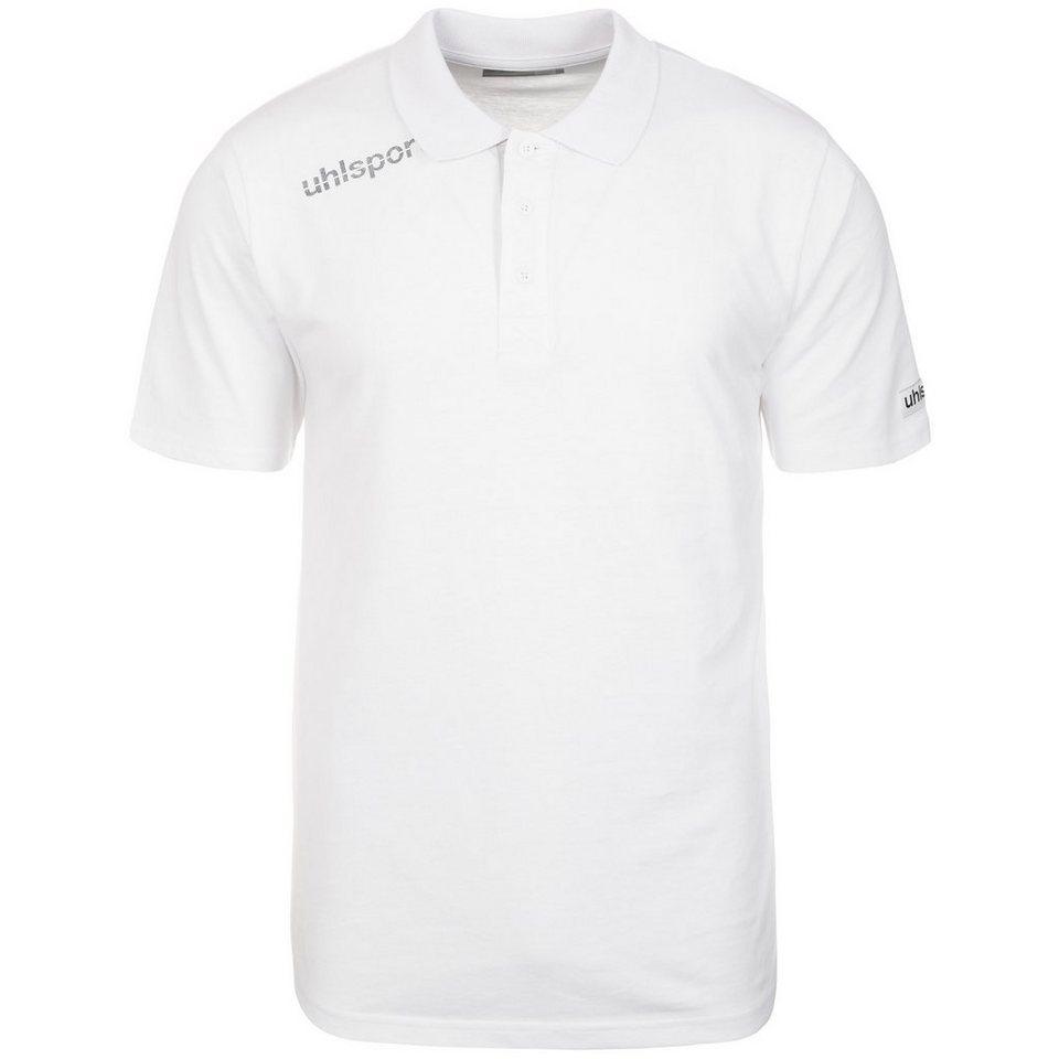 UHLSPORT Essential Polo Shirt Herren in weiß