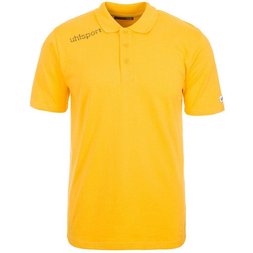 UHLSPORT Essential Polo Shirt Kinder in maisgelb