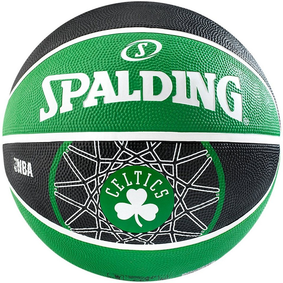 SPALDING Team Boston Celtics Basketball in grün / schwarz