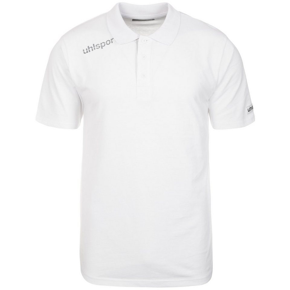 UHLSPORT Essential Polo Shirt Kinder in weiß